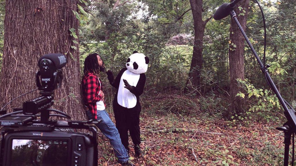 Behind the scenes of Panda Bear It