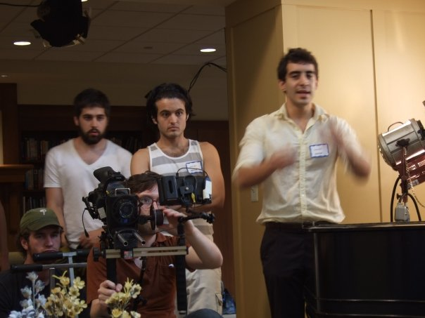 Nick Gregorio directing Happy Birthday, Harris Malden