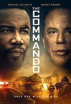 The Commando - poster